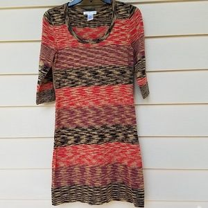 London times body contouring sweater dress S